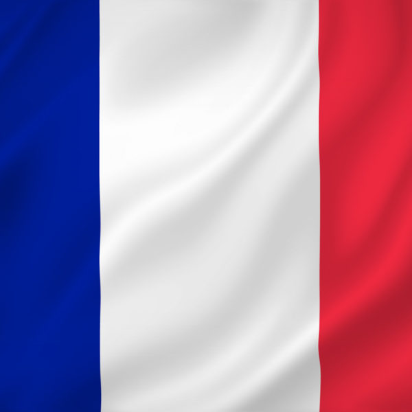 France national flag background texture.